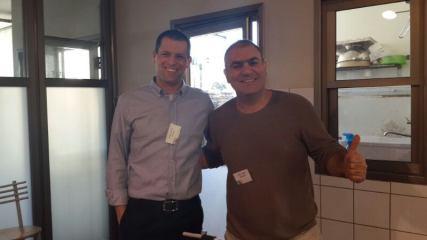 """אמיר גולן, מנכ""""ל משותף קוד אואזיס ואילן סגלמן מנהל מכירות אינטנטיה"""
